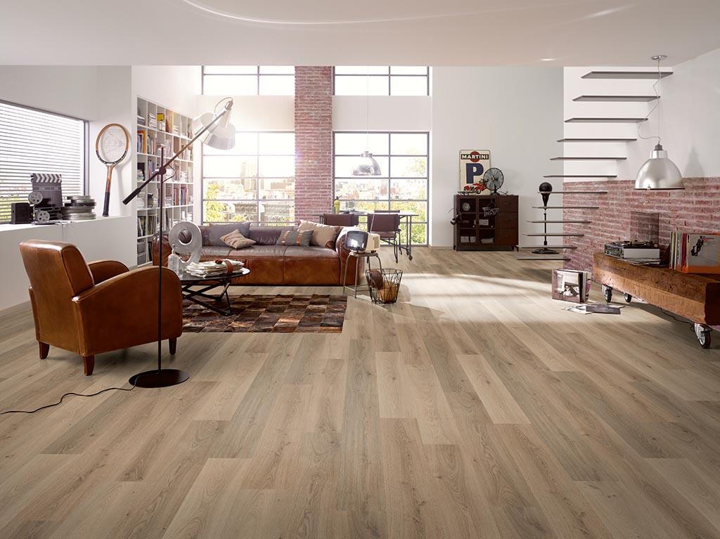 Laminált padló nappaliba